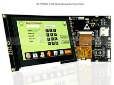 "4.3"" inch TFT LCD Module Display,I2C,Serial w/Capacitive Touch Panel,Tutorial"