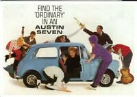 Austin Seven - early Mini - Modern postcard by Vintage Ad Gallery