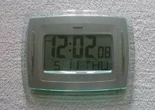CASIO ID-12 Digital Auto Calendar Wall Desk Clock RRP £49.99 **FAST DESPATCH**