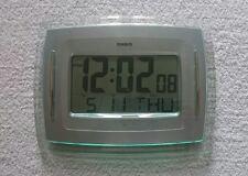 CASIO ID-12 Digital Auto Calendar Wall Desk Clock RRP £49.99 **FAST DESPATCH**