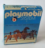 Playmobil System 3270 - 4 Pferde 4-12 Jahren Neu/New