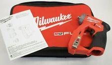 "Milwaukee 2505-20 M12 FUEL 12V Li-ion 3/8"" Installation Drill Driver w/ Case"