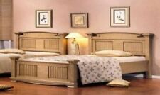 Solid Wood Queen Bed, Bedside, Dressing Table & Mirror Full Set CLEARANCE