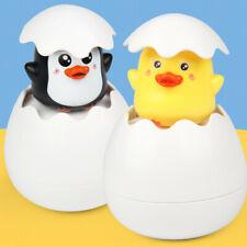 Baby Shower Bath Toys for Children Sprinkling Egg Floating Duck Penguin Spraying