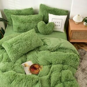 Long Hair Bedding Set Mink Fleece Bed Set Flannel Bed Linen (no Filling) Velvet