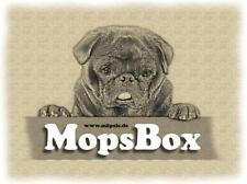 MopsBox von Möpsle - Blechdose Mops Box - MopsBox - Geschenk - Hund