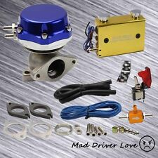 TURBO EXTERNAL WASTEGATE 14PSI 38mm +GOLD ADJUSTABLE DUO SWITCH BOOST CONTROLLER