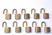Authentic Louis Vuitton Padlock 10Set LV C1803