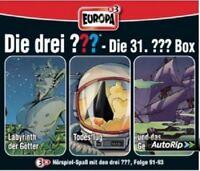 DIE DREI ??? - 31/3ER BOX-FOLGEN 91-93 3 CD NEU