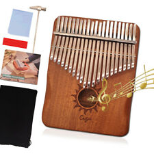 Kalimba Daumenklavier 21 Tasten Marimbaphone Mahagoni Fingerklavier Thumb Piano