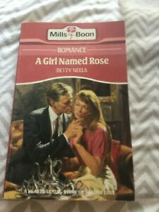 A Girl Named Rose Betty Neels Vintage Paperback