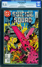 Suicide Squad #23 CGC 9.6 comic book -1st Oracle - Modern Key- 0258585003