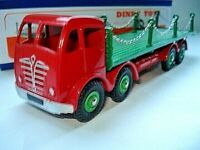Atlas Dinky Supertoys No.505/905 Red Foden Flat Truck with Chains Mint/boxed
