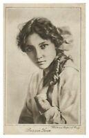 Antique printed postcard Bessie Love actress film stage theatre