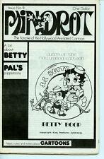 Mindrot #8 Animated Film Quarterly fanzine 1977 FINE