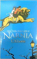 The Chronicles of Narnia 7 Books Box Set Collection By C.S. Lewis-Brand New