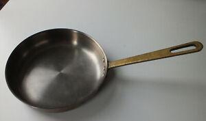 Tagus Copper & Brass Sauce saute Pan frying skillet