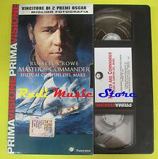 film VHS cartonata MASTER AND COMMANDER Sfida confini mare PANORAMA (F29)*no dvd