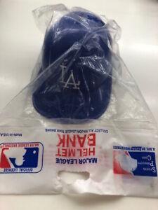 Vintage New LA Dodgers Major League Baseball Mini Helmet Bank