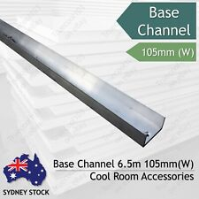 Base Channel 105mm (W), 6.5m (L), Coolroom Accessories Sydney Lidcombe