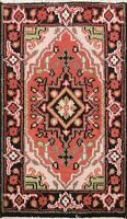 Geometric Indo Heriz Oriental Hand-knotted Area Rug Home Decor Wool 2'x3' Carpet