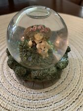 """Kim Anderson Forever Young snow globe """"Hide and Seek"""" with box"""