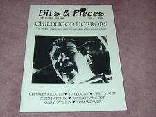 Bits & Pieces magazine/fanzine # 8 - Movies that scared us when we were kids!