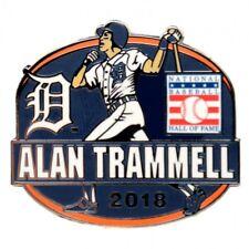 2018 ALAN TRAMMELL BASEBALL HALL OF FAME HOF PIN DETROIT TIGERS RARE