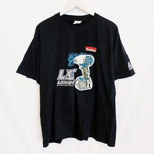 Makita LXT Lithium-Ion Drill Promo T-Shirt Mens XL