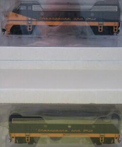 Walthers PROTO 920-40913 Chesapeake & Ohio (C&O) Phase 2 Low F7A F7B DCC & Sound