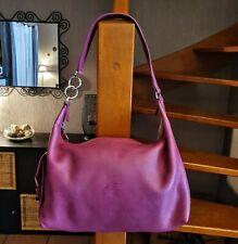 Longchamp petit sac cuir grainé rose fuchsia offre possible