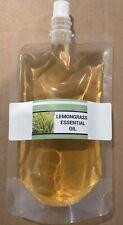 100% Pure Lemongrass Essential Oil 10ml, 30ml 50ml, 100ml, 200ml (10ML FREE OIL)