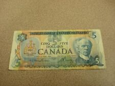 1979 - Canada $5 bank note - Canadian five dollar bill - 30291528256