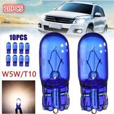 10x W5W T10 5W Halogen White Globe Xenon Sidelight Front Headlight Bulb 12V TOP