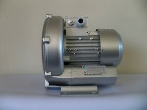 "REGENERATIVE BLOWER 0.67HP 57CFM 64""H2O Press. 220/480V/3PH, Side Channel Blower"