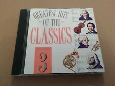 GREATEST HITS OF THE CLASSICS VOLUME 3 ~ GRIEG GLINKA MOZART CD ALBUM EXCELLENT