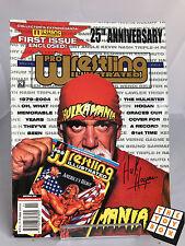 Pro Wrestling Illustrated 25th Anniversary Magazine Hulk Hogan Autograph