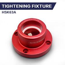 HSK 63A Tool Holder Tightening Fixture Aluminum Alloy Base Avoid Skidding Design
