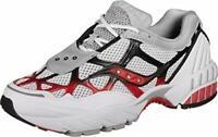 Saucony Men's Grid Web Sneaker, White/Grey/Red, Size 11.5 bJh4