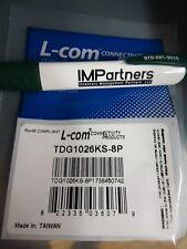 L-Com TDG1026KS-8P Cat 3 Coupler Shielded RJ45. Brand New! 6 pieces!