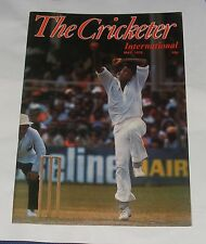 THE CRICKETER INTERNATIONAL MAY 1978 - NEW ZEALAND V ENGLAND 3RD TEST MATCH