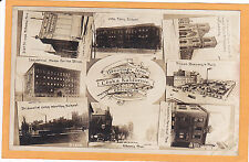 Childs Real Photo Postcard RPPC - Ceska Kalifornie Chicago Garden City Brewery