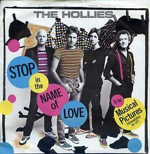 7inch THE HOLLIES stop in the name of love HOLLAND 1983 EX