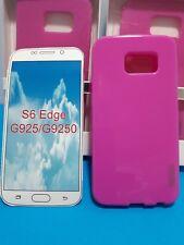 Samsung Galaxy S6 EDGE  – SOFT CASE – PINK