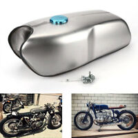 Cafe Racer Universal Custom 9L / 2.4 Gallon Gas Fuel Tank for Honda Yamaha BMW