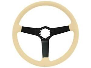 1980-82 Chevrolet Corvette OE Series Black Center Steering Wheel - Tan