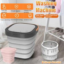 Mini Folding Portable Washing Machine Laundry Clothes Machine Automatic Clean