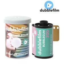 2 x dubblefilm BUBBLEGUM 200 ISO 35mm Full-Frame Tint Color Negative 36exp Film