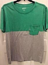 Men's Arizona Jean Co. Tee Shirt  Short Sleeve Green /Gray Pocket Size XL NWT