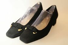 EASY STEPS  Women Leather Suede Loafer Size 39/8 black in colour new box